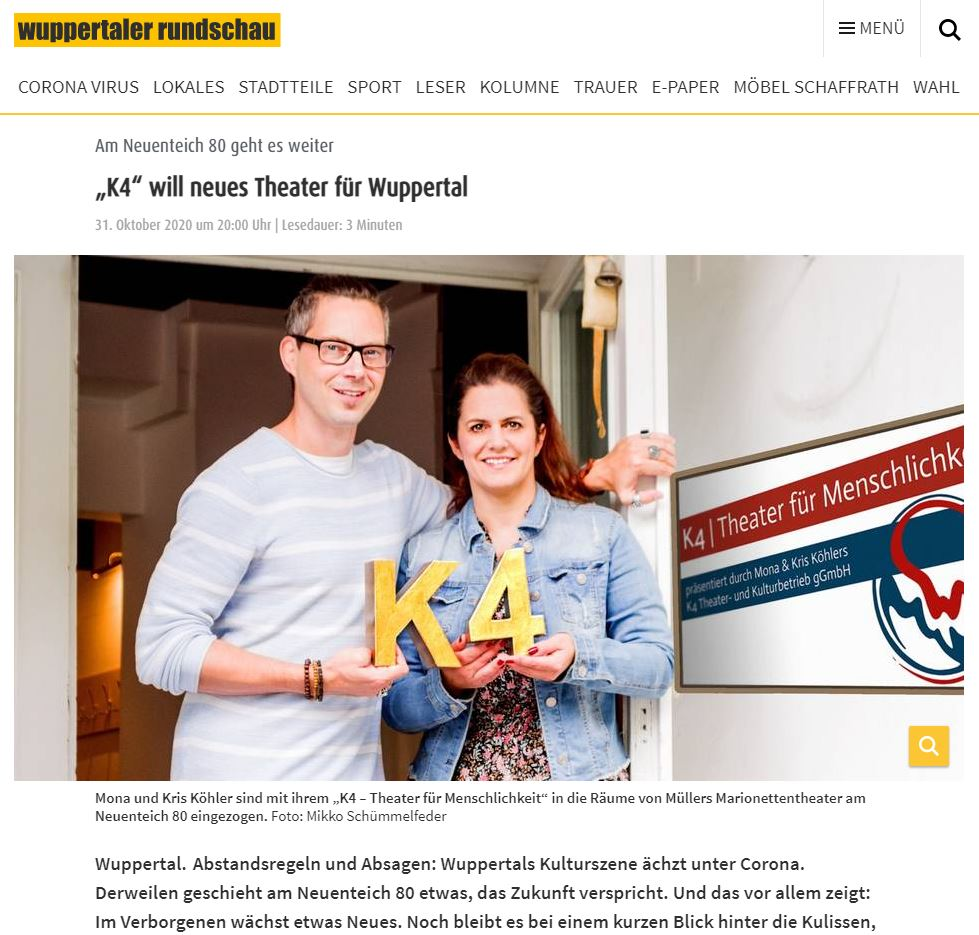 Zum Bericht der Wuppertaler Rundschau